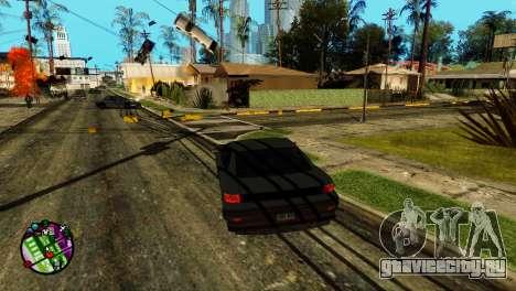 Транспорт вместо пуль V2 для GTA San Andreas второй скриншот