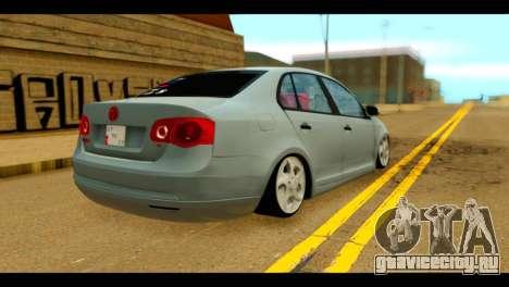Volkswagen Bora для GTA San Andreas вид слева