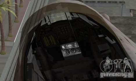 F-16XL для GTA San Andreas вид справа
