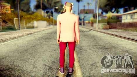 Skin Kawaiis GTA V Online v2 для GTA San Andreas второй скриншот