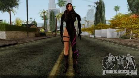 Jessica Sherawat from Resident Evil Revelations для GTA San Andreas