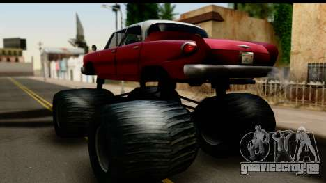 Monster Glendale для GTA San Andreas вид слева