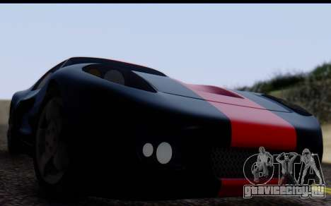 Bullet PFR v1.1 HD для GTA San Andreas вид справа