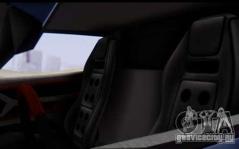 Bullet PFR v1.1 HD для GTA San Andreas вид снизу
