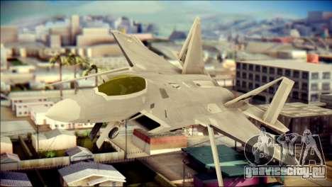 FA-18D Hornet Blue Angels для GTA San Andreas вид сзади