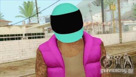 Hotline Miami Biker для GTA San Andreas третий скриншот