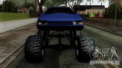 Monster Cadrona для GTA San Andreas вид сзади