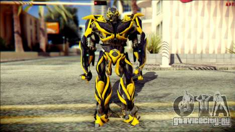 Bumblebee Skin from Transformers для GTA San Andreas