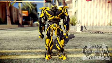 Bumblebee Skin from Transformers для GTA San Andreas