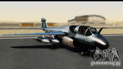 Northrop Grumman EA-6B ISAF для GTA San Andreas вид слева