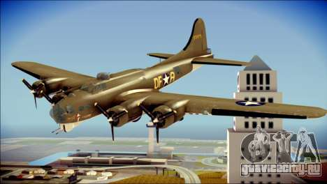 B-17G Flying Fortress для GTA San Andreas