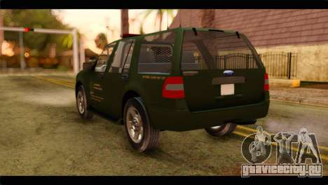 Ford Expedition 2009 SANG для GTA San Andreas вид слева