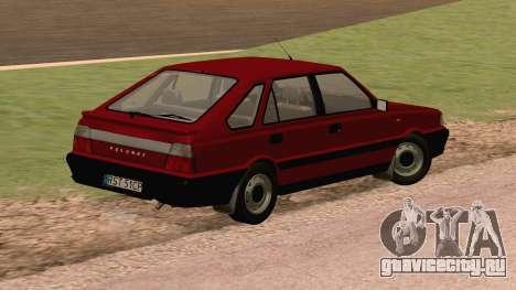 Daewoo FSO Polonez Caro Plus ABC 1999 для GTA San Andreas вид сзади слева