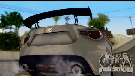 Toyota GT86 Itasha для GTA San Andreas вид справа