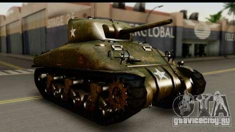 M4A1 Sherman First in Bastogne для GTA San Andreas