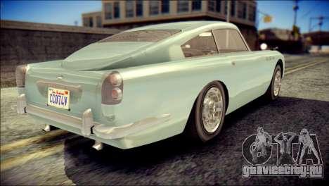 GTA 5 Dewbauchee JB 700 IVF для GTA San Andreas вид слева