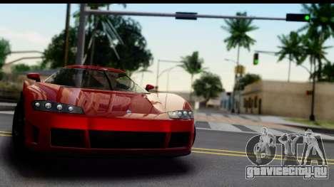GTA 5 Overflod Entity XF для GTA San Andreas вид сзади слева
