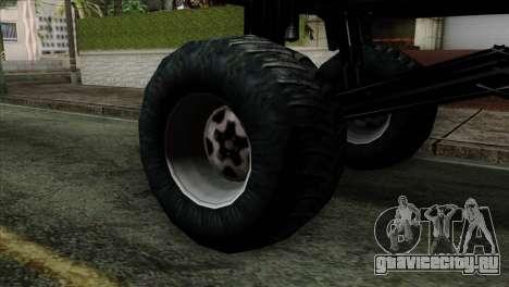 Monster Cadrona для GTA San Andreas вид сзади слева