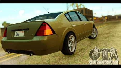 GTA 4 Pinnacle для GTA San Andreas вид слева