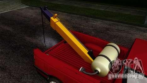 Peugeot 405 Pickup для GTA San Andreas вид сзади