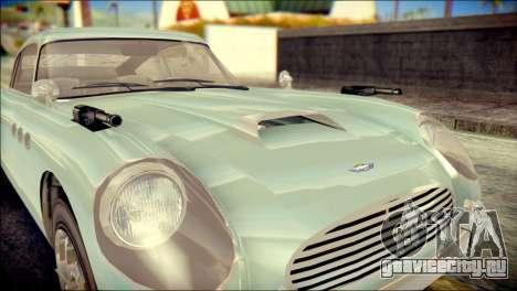 GTA 5 Dewbauchee JB 700 IVF для GTA San Andreas вид изнутри