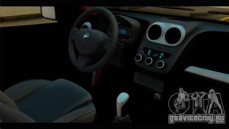 Chevrolet Celta VHC 1.0 для GTA San Andreas вид справа