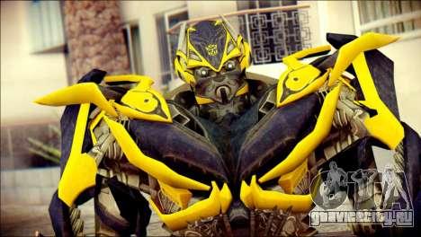 Bumblebee Skin from Transformers для GTA San Andreas третий скриншот