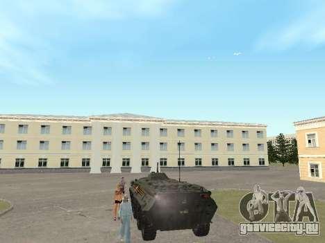 БТР 80 Парадный для GTA San Andreas вид справа