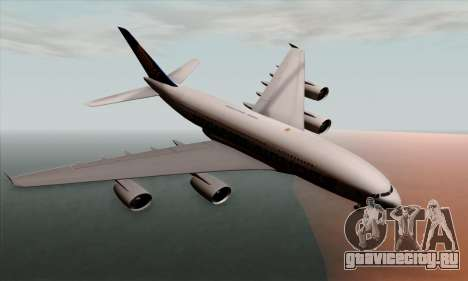 Airbus A380-800 Singapore Airline для GTA San Andreas