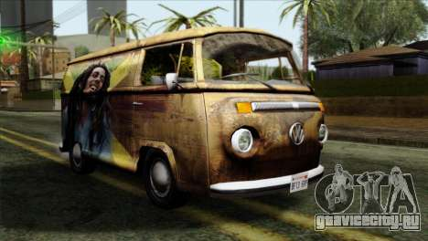 Volkswagen T2 Bob Marley для GTA San Andreas