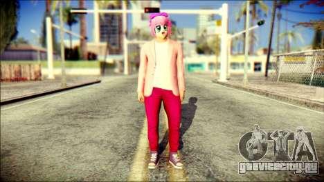 Skin Kawaiis GTA V Online v2 для GTA San Andreas