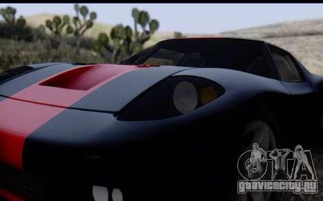 Bullet PFR v1.1 HD для GTA San Andreas вид сбоку