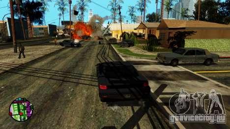 Транспорт вместо пуль V2 для GTA San Andreas пятый скриншот