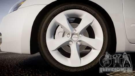 Nissan Altima 3.5 SE для GTA 4 вид сзади