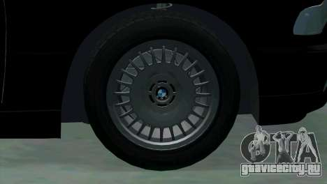 BMW 750i e38 для GTA San Andreas вид сверху