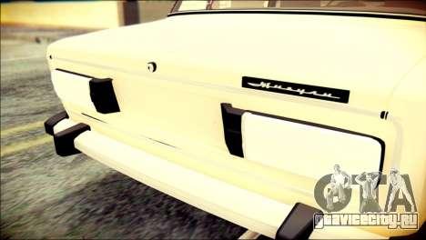ВАЗ 2106 Сток для GTA San Andreas вид сзади