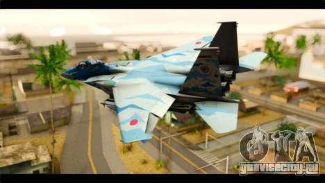 F-15E 303rd TFS Fighting Dragons для GTA San Andreas вид слева