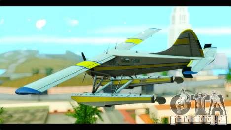 GTA 5 Sea Plane для GTA San Andreas вид слева