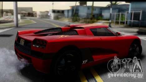 GTA 5 Overflod Entity XF для GTA San Andreas вид слева