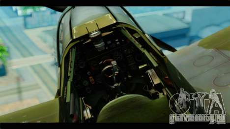 Supermarine Spitfire F MK XVI 318 SQ для GTA San Andreas вид справа
