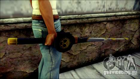 Saber Dice Kamen Rider Beast для GTA San Andreas третий скриншот