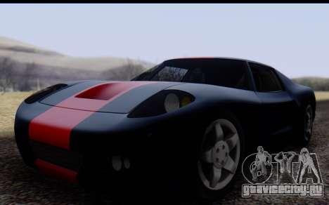 Bullet PFR v1.1 HD для GTA San Andreas вид слева