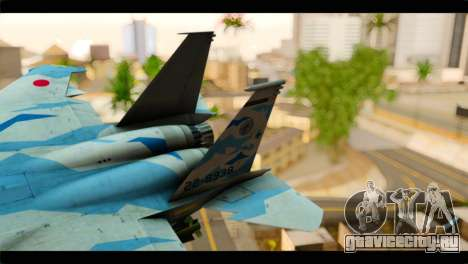 F-15E 303rd TFS Fighting Dragons для GTA San Andreas вид сзади слева