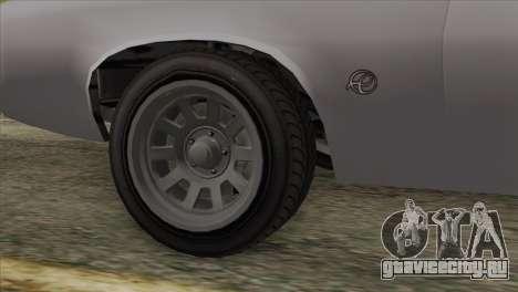 GTA 5 Declasse Stallion IVF для GTA San Andreas вид сзади слева