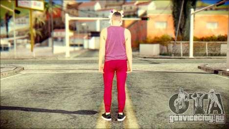 Skin Kawaiis GTA V Online v1 для GTA San Andreas второй скриншот