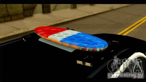Chevrolet Suburban 2015 SAPD для GTA San Andreas вид сзади