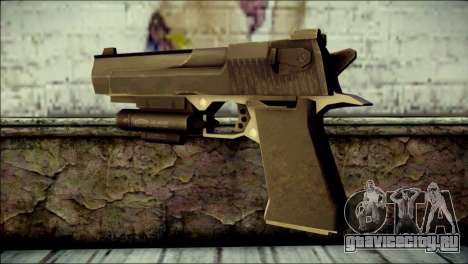 Rumble 6 Desert Eagle для GTA San Andreas второй скриншот