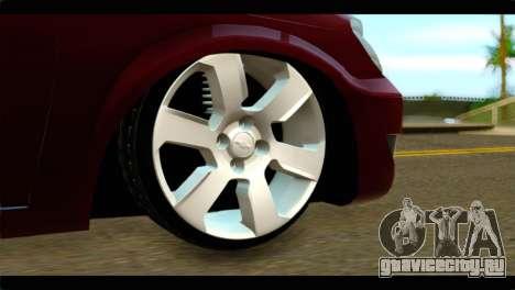 Chevrolet Celta VHC 1.0 для GTA San Andreas вид сзади слева