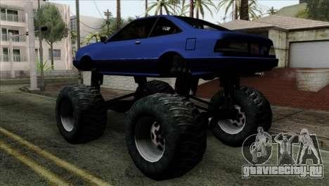 Monster Cadrona для GTA San Andreas вид слева