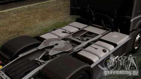 Mercedes-Benz Actros MP4 Euro 6 IVF для GTA San Andreas вид сзади
